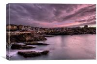 Ilfracombe sunset, Canvas Print