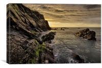 North Devon Coastline, Canvas Print