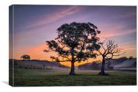 North Devon Sunrise, Canvas Print