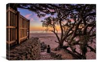 Putsborough Sunset, Canvas Print