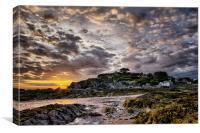 Lee Bay sunrise, Canvas Print