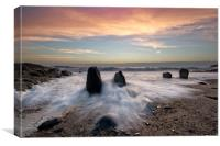 Croyde Bay North Devon, Canvas Print