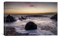Croyde Bay North Devon, Canvas Print