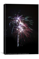 Fireworks 01, Canvas Print