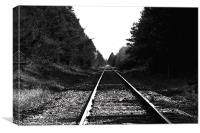 Rails, Canvas Print