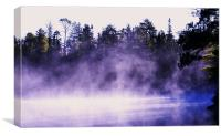 Blue Lagoon, Canvas Print