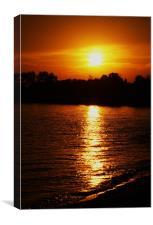 Evening Sun, Canvas Print