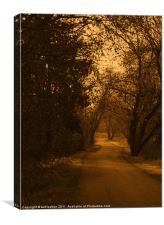 Memory Lane, Canvas Print