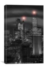 Toronto Sleeps 2, Canvas Print