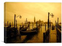 Venice at Dusk, Canvas Print