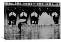 High Water in Venice, Canvas Print