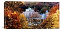 Buxton in Autumn, Canvas Print
