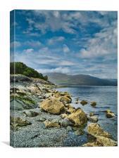 Loch Spelve, Canvas Print