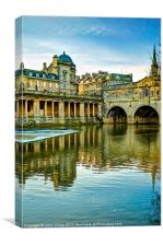 Pulteney Bridge 2, Canvas Print
