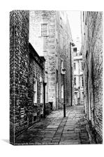 Back street, Canvas Print