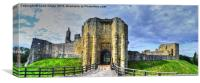 Warkworth Gate, Canvas Print