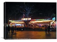 Leicester Square Lights, Canvas Print