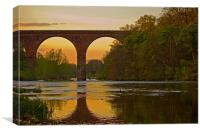 Weatheral Viaduct, Canvas Print