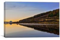 Suilven across Loch Craggie, Canvas Print