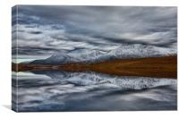 Cranstackie Reflections, Canvas Print