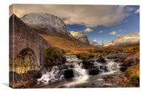 Russell Burn and the Bealach na Ba, Canvas Print