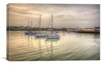 Isle of Whithorn, Canvas Print
