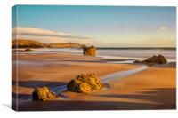 Daybreak at Sango Sands, Canvas Print