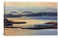The Summer Isles, Canvas Print