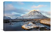Buaichaille Etive Mor at Dawn, Canvas Print