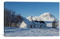 Blackrock Cottage and the Buachaille Etive Mountai