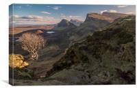 The Quiraing Isle of Skye, Canvas Print
