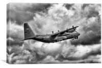 Lockheed Martin C-130 H Hercules, Canvas Print