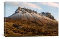 Mountain of Stac Pollaidh, Canvas Print