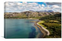 Gruinard Bay, Canvas Print