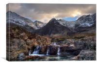 The Fairy Pools, Isle of Skye, Canvas Print