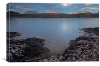 Achnahaird Bay and Assynt Mountains, Canvas Print
