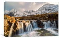 The Fairy Pools, Isle of Skye, Canvas Print
