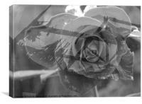 Flower Wreck, Canvas Print