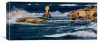 Cyprus Seascape, Canvas Print
