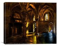 The Crypt, Canvas Print