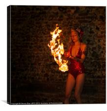 Fire Eater 1, Canvas Print