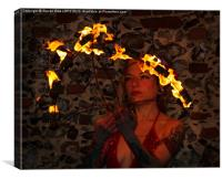 Fire Eater 3, Canvas Print