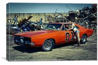 General Lee, Canvas Print