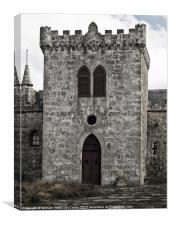 Castel Qannotta, Canvas Print