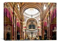 Mdina Cathedral, Canvas Print