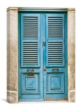 Malta House of Character, Canvas Print