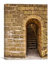 Castle Doorway, Canvas Print
