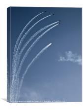 Breitling Jet Team, Canvas Print