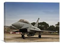 Eurofighter Typhoon, Canvas Print