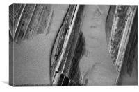 Wood & Sand, Canvas Print
